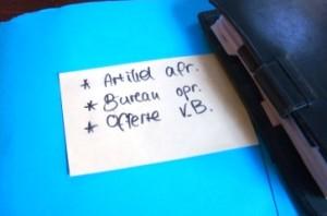 een 3 takenlijst helpt om flow in je werk te bereiken