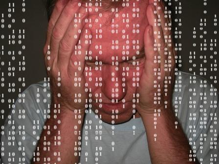 tegenslag werk computer
